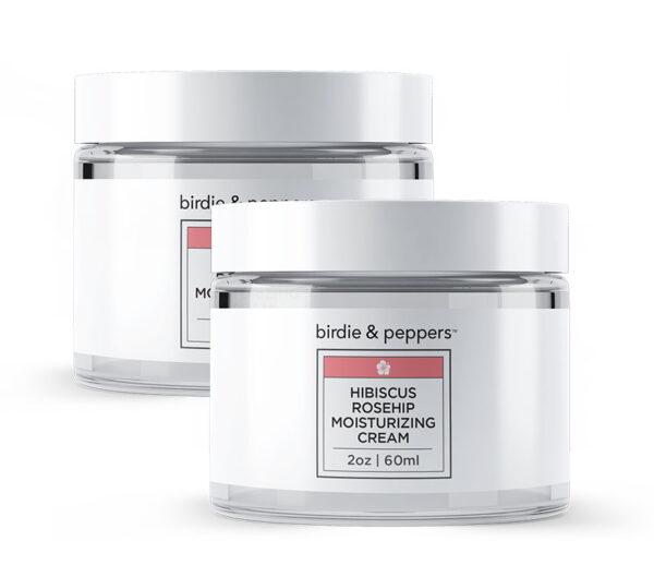 Hibiscus Rosehip Moisturizing Cream 2 Pack
