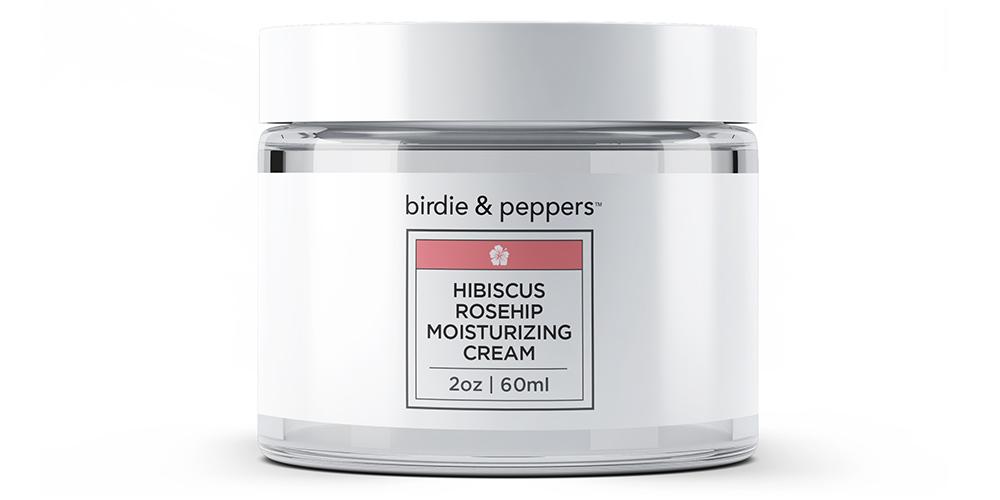Introducing Hibiscus Rosehip Moisturizing Cream